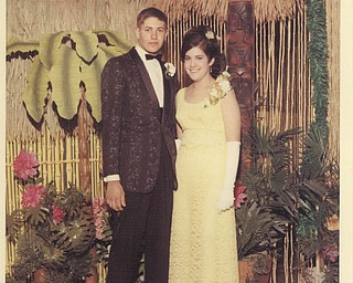 Michelle Galazia sent this picture of her mom and dad, Marie and Fred Gentile, formerly of Struthers, now of Pulaski, Pa. She says they attended the Struthers High School prom. They were married in 1967 and have Òlived happily ever after.Ó