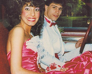 Francie Santarelli and Greg Short attended the  Woodrow Wilson High School prom in 1987.