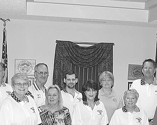 Plans for the Independence Day Parade in Canfield have been completed by, from left, Dennis Wilde, John Craig, Marlene Belfiore, Jack Salmon, Barb Fisher, Jeff Moliterno, Enid Maldonado, Clare Neff, Carol Salmon, David Burch, Alexa Magnuson, and Chuck Clucci. Other committee members, not pictured, are Steve Rogers, Mark Sabol and Jim Queen.