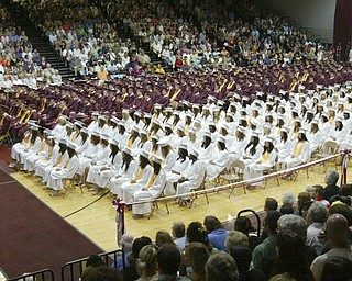 ROBERT K. YOSAY | THE VINDICATOR..The 2010 Class of Boardman High School at Boardman High Schools Graduation 2010 held at the school -30