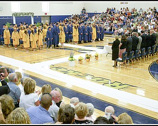 ROBERT K. YOSAY | THE VINDICATOR...at Lowellville High School gym - the glass of 2010 - graduated Sunday afternoon-30