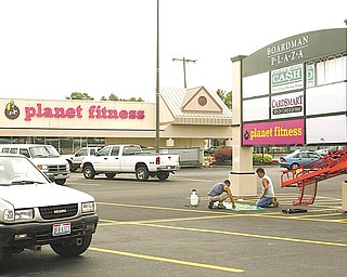Planet Fitness is expected to open next week at the former Burlington Coat Factory space in the Boardman Plaza.