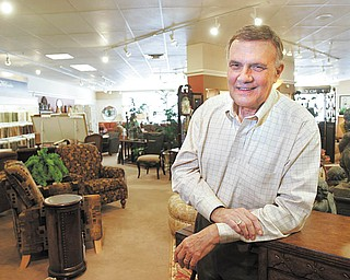 Wiilliam D. Lewis |The Vindicator  Lazy Boy store owner ron D'Alseandro  in his store.