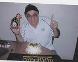 Michael Parise of Campbell, an ultimate Steeler fan and season ticketholder since 1971, is still going strong at 73.