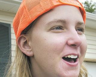 Bike & Build volunteer Paige Hicks