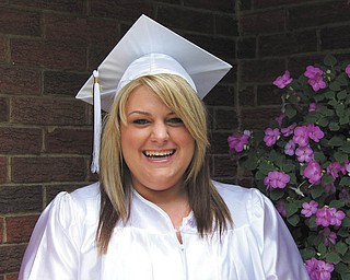 Kayla Marie Babos of Boardman is all smiles after she graduated from Boardman High School.