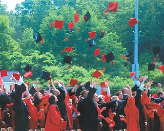 Canfield High School graduation took place at the Bob Dove Stadium on June 13.