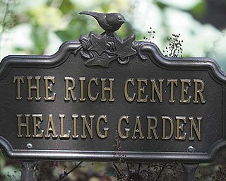 Outdoor Healing Garden in front of Fedor Hall on the Youngstown State University Campus.