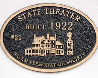 The Salem Community Theatre got a $53,000 state grant and a lot of donated work to fix the building's roof and make other repairs and improvements.