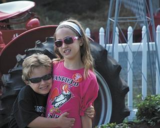 Tyler Kadivar, left, and Hailey Kadivar of Bradenton, Fla., are the grandchildren of Bob and Joan Stroh of Poland.