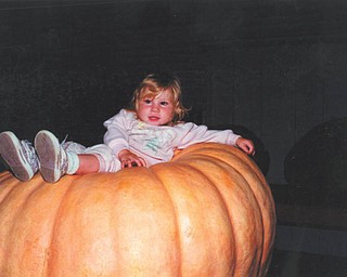 Leanna Hartsough of Canfield, who was 1 at the time of this picture, is now a senior at Canfield High School.