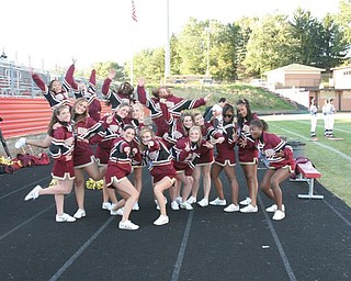 Liberty Cheerleaders - Photos from the Liberty vs Campbell football game