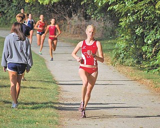 After a strong freshman year as YSU's second-best cross country runner, Samantha Hamilton has embraced the team's top spot this fall with eyes on first team all-conference honors.