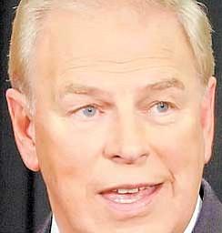 Ohio Democratic Gov. Ted Strickland