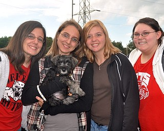 Liberty at Struthers Blitz Tailgate Party on Friday, Sept. 17, 2010.