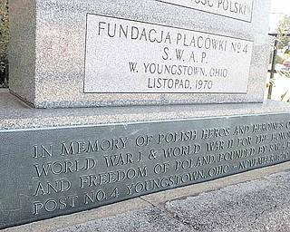 Polish veterans monument.