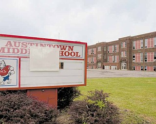 The old Austintown Middle School on Mahoning Avenue