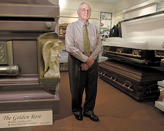 George Kinnick, 75, has owned and operated Kinnick Funeral Home on Youngstown's West Side for more than 30 years.