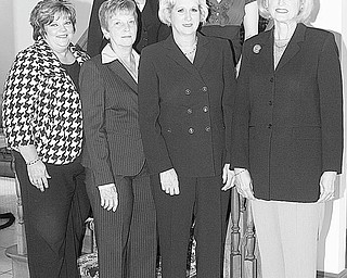 Nick Mays | Special TO The Vindicator Looking forward to a fundraising luncheon and fashion show to be sponsored by Youngstown Area Federation of Women's Club Inc. are, from left in back, Debra Kostelic and Amanda Beagle, and, in front, Linda Crish, Rusti Puromaki, Yvonne Ford and Suzanne Brown.