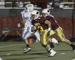 Cardinal Mooney football Oct 8, 2010