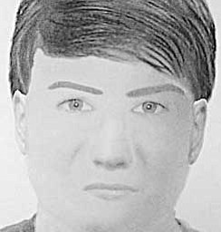 The Trumbull County Sheriff's office is hoping that a $1,000 reward being offered by the family and friends of an assault victim will help identify a suspect, shown above in two police sketches. A woman in her 60s was riding her bicycle on Custer-Orangeville Road near the entrance to Sharon Speedway in Hartford Township at 1:30 p.m. Oct. 9 when a man around 30 years old in a gray Chevrolet Impala grabbed her, pulled her off of the road, choked her, and attempted to rape her. Anyone with information is asked to call the sheriff's office at 330-675-2508.