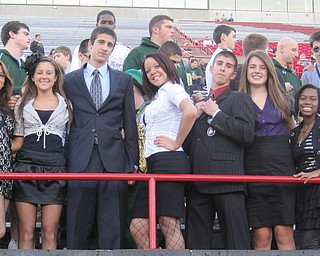 ursuline student section business theme night