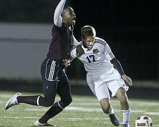 Boardman vs Canfield boys soccer.