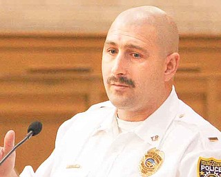 Lt. Kevin Mercer explained the city police department's increased patrols in high-crime areas.