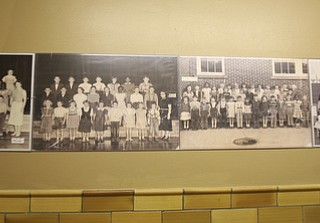 ROBERT K. YOSAY   THE VINDICATOR..Stevenson School in Masury  has found new life thanks to Moe Hejazi  of Greenville- as he turns the old school into an neat restaurant in Masury-..  --30-..