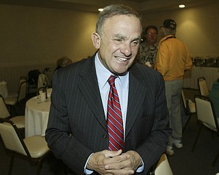 William D Lewis The Vindicator Trumbull commissioner Frank Fuda during election party at Enzo's in Warren.