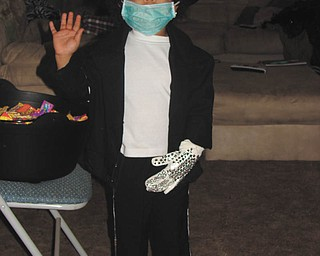 Kendra Wallace was only 2 in 2009 when she dressed up as Michael Jackson. She's the daughter of George Jr. and Stephanie Wallace of Youngstown, who sent in the photo.