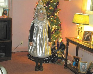 Madalyn Smith, 7, of Boardman celebrates her love of chocolate in her Hershey Kiss costume. Photo submitted by Patty Hoover.