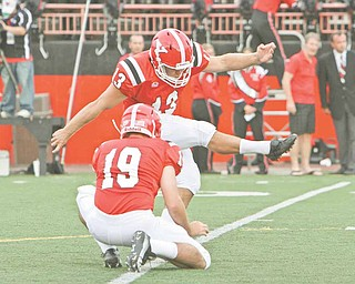 Senior kicker Stephen Blose made 12 of 14 field goals, including his last 11. He was also good on extra points, making 38 of 40.