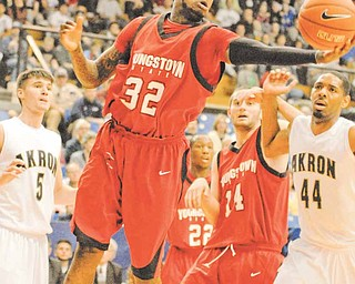 Youngstown State junior guard Tre Brewer is one of several newcomers making an impact for the Penguins this season. Brewer decided to transfer to Cal State San Bernardino, a Division II school.