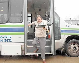 Barbara Altman, 56,  arrives home safely.