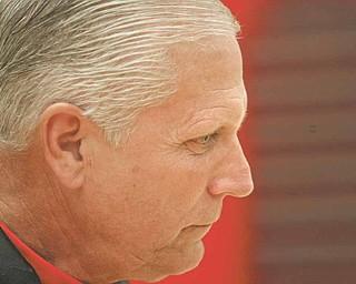 YSU men's basektball coach Jerry Slocum