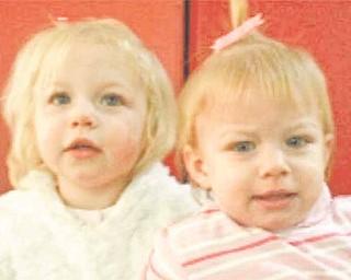 Kynadi Manley, 1, and Alexis Manley, 2.