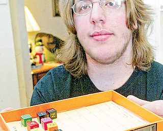 Travis Court, 15, will travel from his Ellwood City, Pa., home to Florida, where he will compete in a national LinguiSHTIK tournament.  LinguiSHTIK is a game that focuses on sentence composition, grammar, vocabulary and spelling.