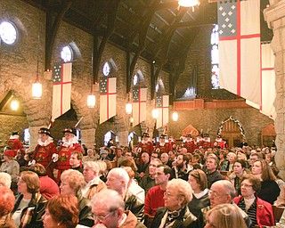 The Boar's Head and Yule Log Festival at St. John's Episcopal Church, 323 Wick Ave., Youngstown. Sunday marked the 50th anniversary festival, which is held annually on the second Sunday in January.