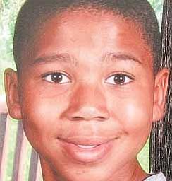 12-year-old Camorin McGhee