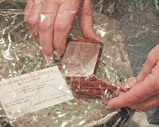A diamond ring donated from Uptown Gems and Jewels in Warren will be auctioned at the fundraiser. The ring is worth more than $850.