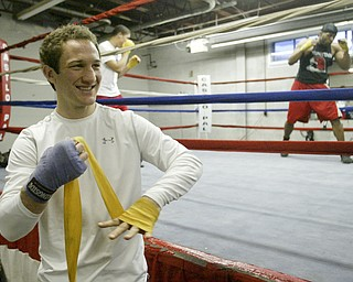 Middleweight Boxer Billy Lyell