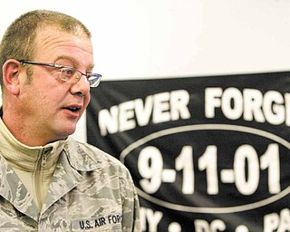 Air Force Reserve Senior Master Sgt. Scott Spackman of Niles spent four months in Afghanistan with the 910th Airlift Wing. The reservists recently returned to their bome base in Vienna Township.