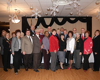 """Annual Legislative Brunch: The League of Women Voters of Trumbull County hosted its annual Legislative Brunch on Jan. 22 at DiLucia's Banquet Center in Warren. Fifty-two people attended, including members of supportive women's clubs, local, county and state elective officials and board members of LWV of Trumbull County. The brunch was started years ago to give league members and their guests the opportunity to meet in a personal atmosphere with their elected officials. At that time, an annual basket auction and 50-50 raffle were instituted to help raise funds to publish the """"Local Voter Guide"""" for Trumbull County residents."""
