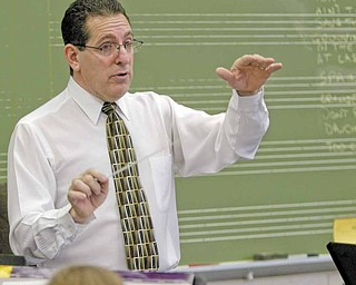 Boardman High School Director of Bands Thomas Ruggieri keeps the musicians busy throughout the year with concerts, competitions and other special events.