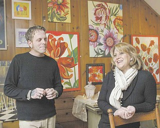 David Walker, 41, and Susan Morgione, 46, recently opened Canfield Wood Folk Designs and Home Decor at 79 N. Broad Street in the city. The shop features items that are hand-carved by Walker, as well as other home decor, art and craft items.