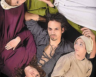 "The cast of Youngstown State University Theater's production of ""The Crucible,"" which opens Thursday."