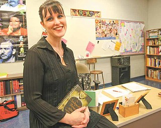 Austintown Middle School teacher Michelle Best recently won an award from OCTELA, The Ohio Council of Teachers of English Language Arts. Best will receive the award at a conference March 4.