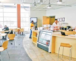 Inside the Newport Branch of the Youngstown Public Library is a  corner café that one might see in New York City. New Seasonings at Chapters is operated by the Everlife Worship Center on Youngstown's East Side. The café offers everything from coffee to salads, soups and sandwiches.