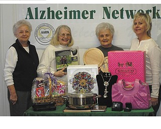 "Remembering others: The Alzheimer's Assistance and Referral Network will sponsor its annual charity auction, titled ""Valley Memories,"" on March 26 at the Fifth Season Banquet Center, 1400 N. Canfield Niles Road, Mineral Ridge, where doors will open at 6 p.m. Items for basket, silent and live auctions have been donated by area residents and businesses. Take II will entertain. For tickets ($42.50), call the network at 330-788-9755. Proceeds help to fund the network's caregiver education series, research program, family support groups, telephone information line and public awareness events. Above, from left to right, are Dorothy Leone, Dorothy Barto, Carmela Guy and Mary Kay Kollat."